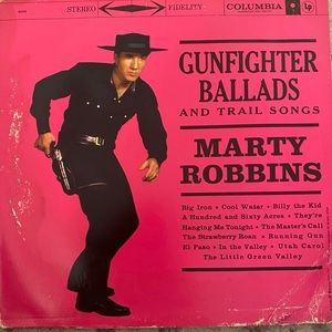 Great condition Marty Robins vinyl